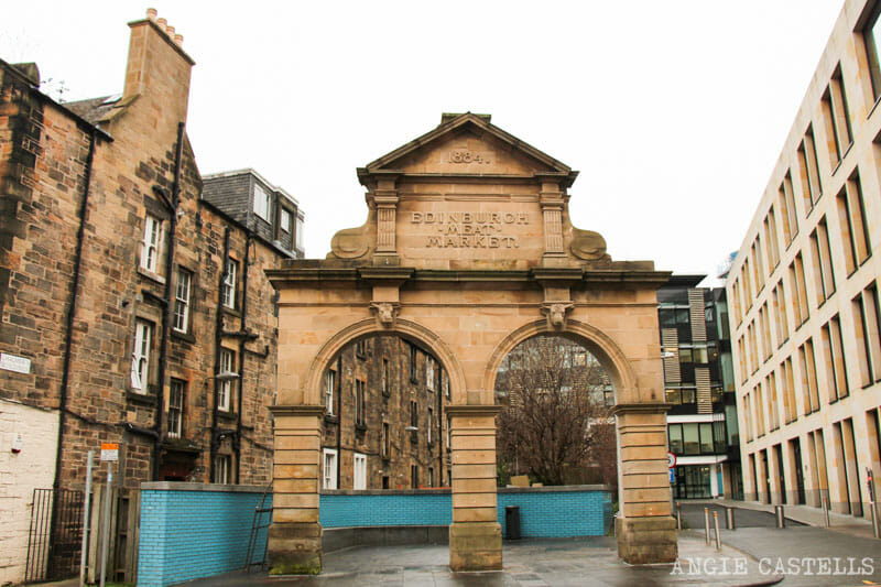 Rincones secretos de Edimburgo - El mercado de la carne de Fountainbridge