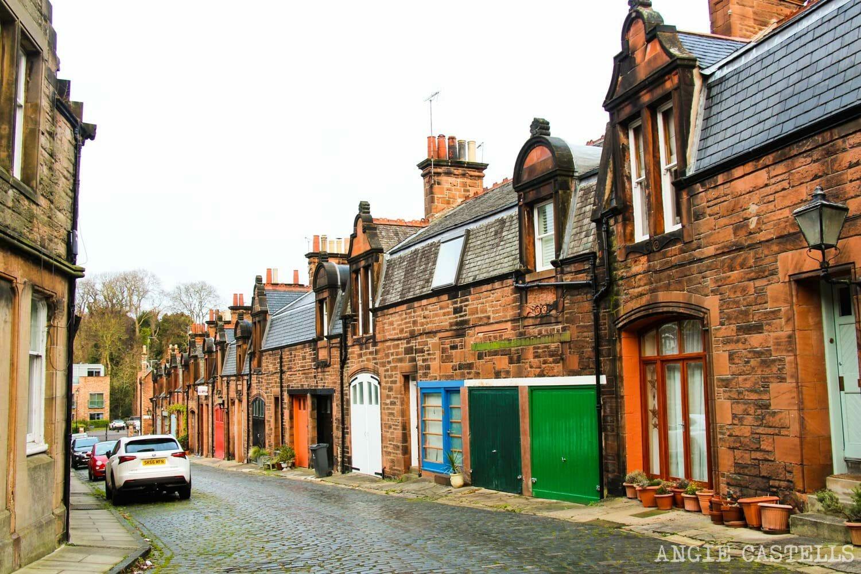 Rincones secretos de Edimburgo - La calle Belford Mews