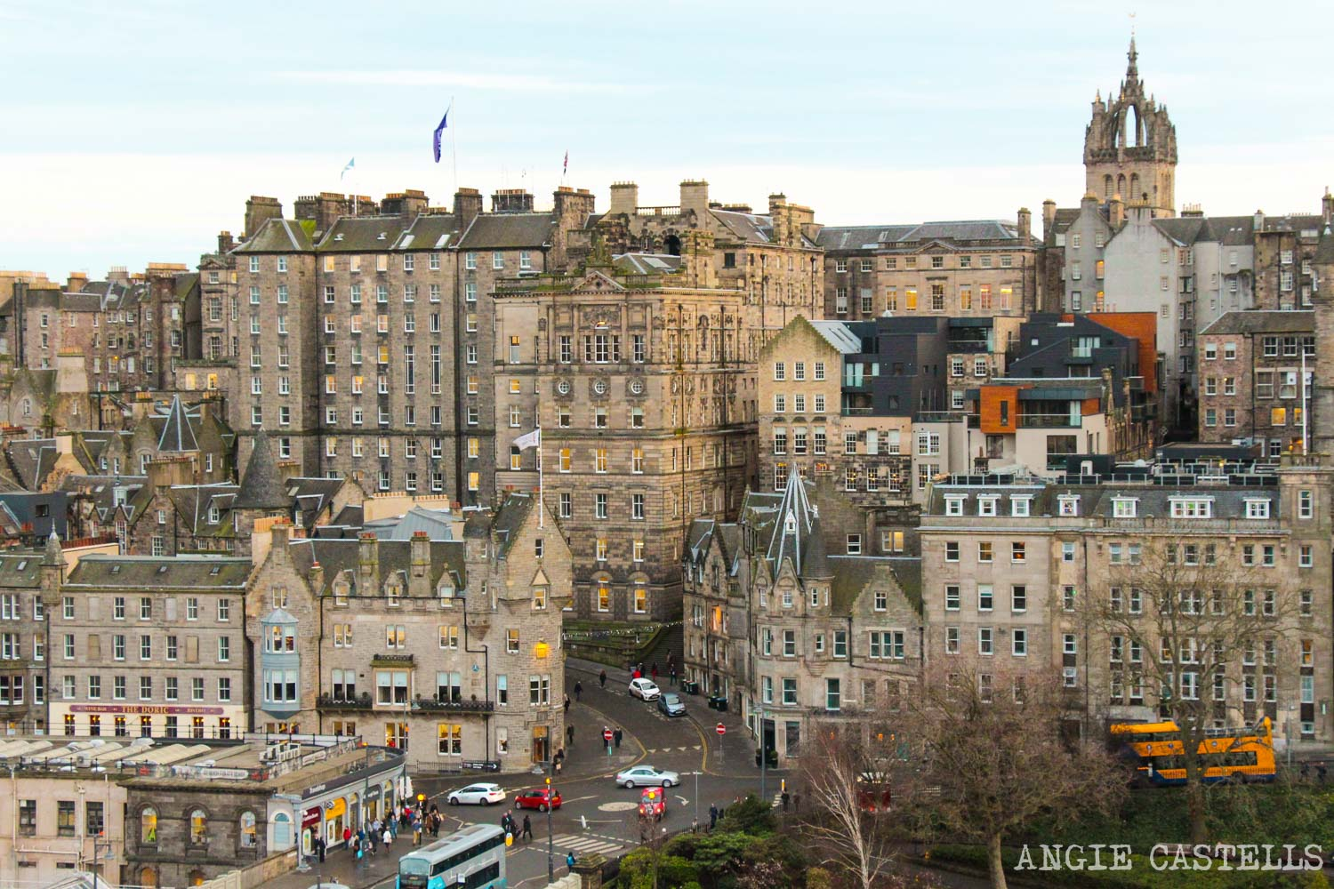 Los barrios de Edimburgo - La Old Town