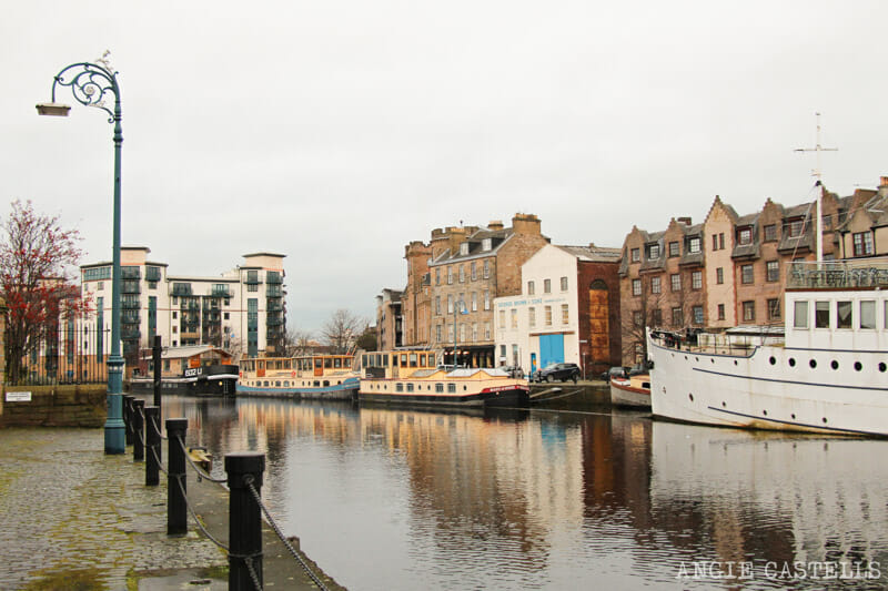 Los barrios de Edimburgo - Leith y The Shore
