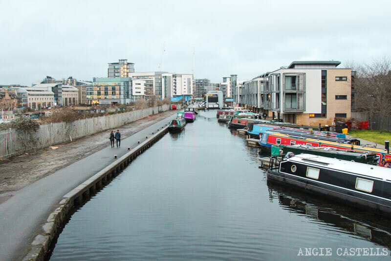 Los barrios de Edimburgo - Fountainbridge y el Union Canal