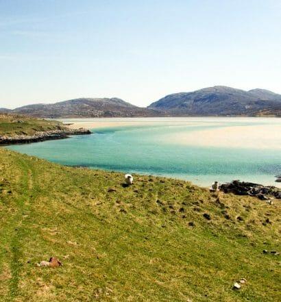 Preparativos para viajar a Lewis y Harris y las Hébridas Exteriores - La playa de Luskentyre