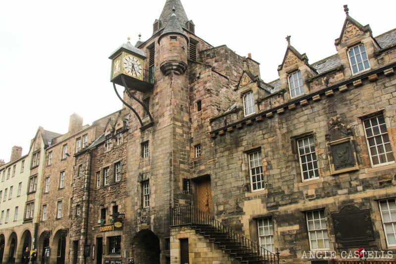 Dónde sacar las mejores fotos de Edimburgo: el Canongate Tolbooth, en la Royal Mile