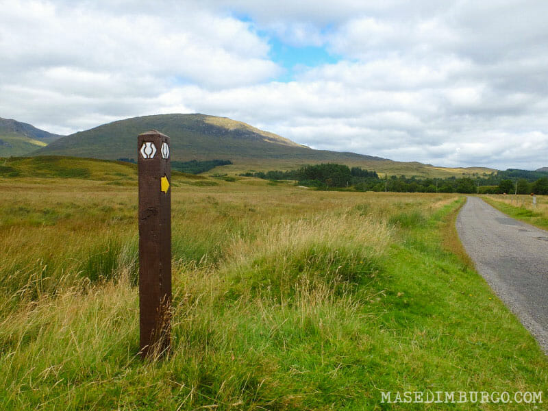 Preparativos para recorrer la West Highland Way - De Bridge of Orchy a Fort William