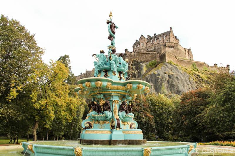Dónde sacar las mejores fotos de Edimburgo - Ross Fountain