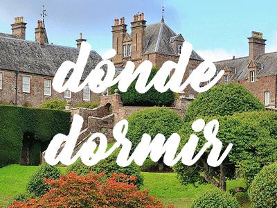 Hoteles y alojamiento en Escocia