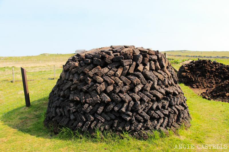 Razones para visitar la isla de Lewis y Harris - Turba o Peat