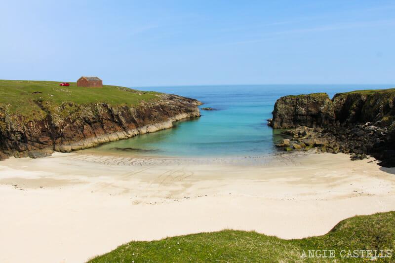 Razones para visitar la isla de Lewis y Harris - Port Stoth Beach
