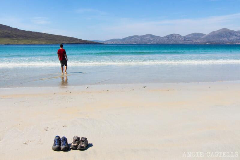 Razones para visitar la isla de Lewis y Harris - Luskentyre Beach