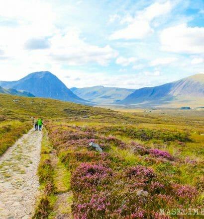 Senderismo en Escocia: La West Highland Way de Bridge of Orchy a Fort William