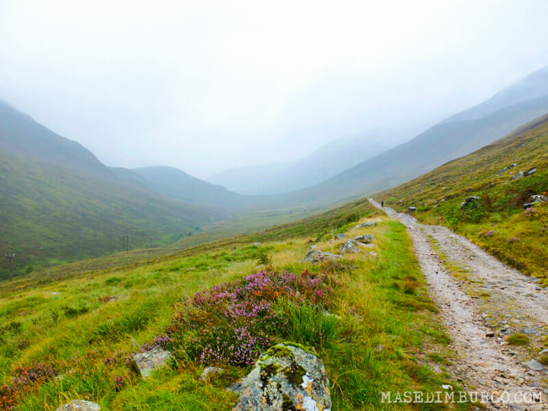 Senderismo en Escocia: La West Highland Way de Bridge of Orchy a Fort William