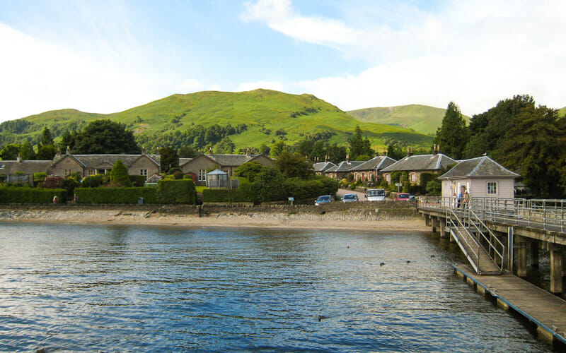 Ruta por Escocia en 10 días - Luss y el Loch Lomond