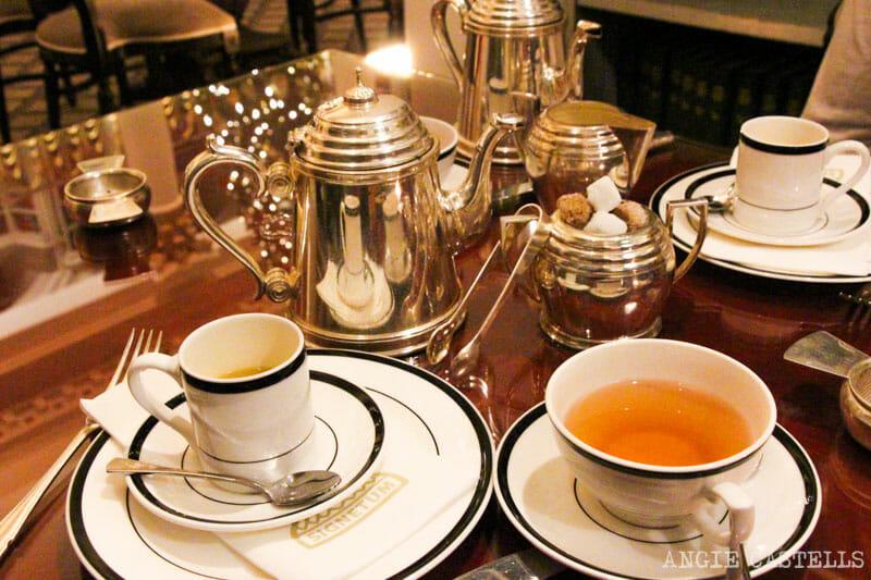 Dónde tomar el afternoon tea en Edimburgo - Colonnades The Signet Library
