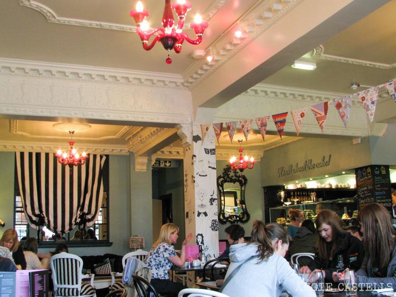 Dónde tomar el afternoon tea en Edimburgo - Mimi's Bakehouse