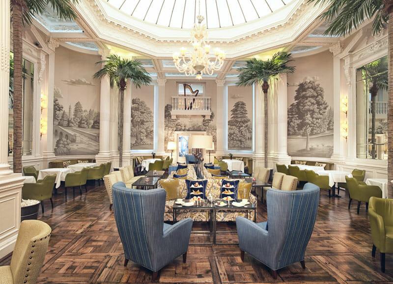 Dónde tomar el afternoon tea en Edimburgo - Hotel Balmoral Palm Court
