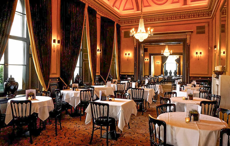 Dónde tomar el afternoon tea en Edimburgo - The Dome Georgian Tea Room
