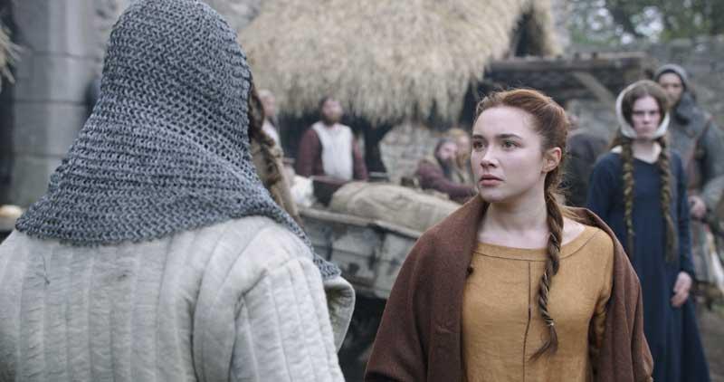 Escenarios de Outlaw King en Escocia - El castillo de Craigmillar