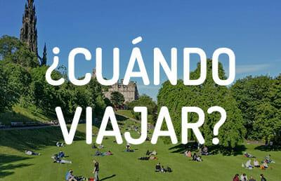 La mejor época para viajar a Edimburgo - Tiempo y festivales