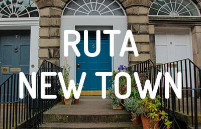 Ruta por la New Town de Edimburgo