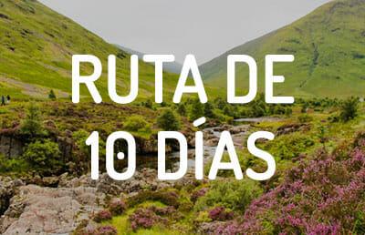 Ruta de 10 días por Escocia
