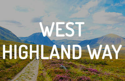 Ruta por la West Highland Way Escocia