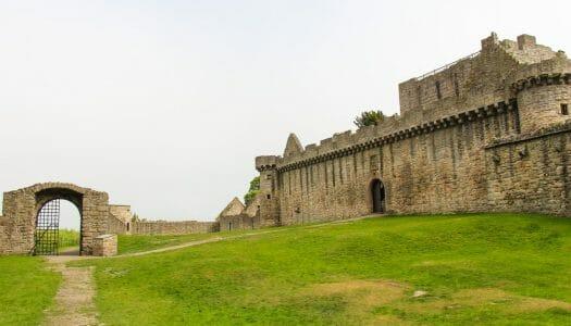 El castillo de Craigmillar, el castillo olvidado de Edimburgo
