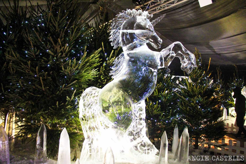 El unicornio, el animal nacional de Escocia - Escultura