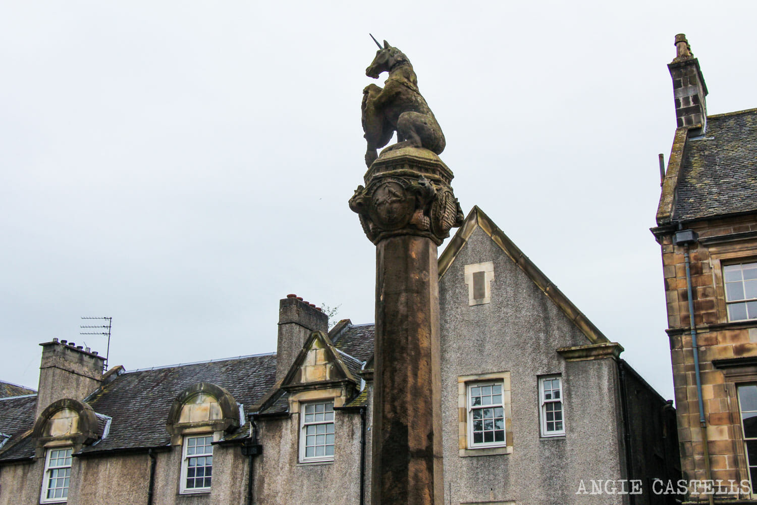 El unicornio, el animal nacional de Escocia - Mercat Cross Stirling