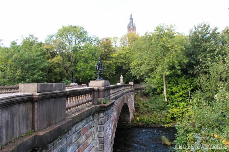 Lugares de rodaje de Outlander en Glasgow - Kelvingrove Park