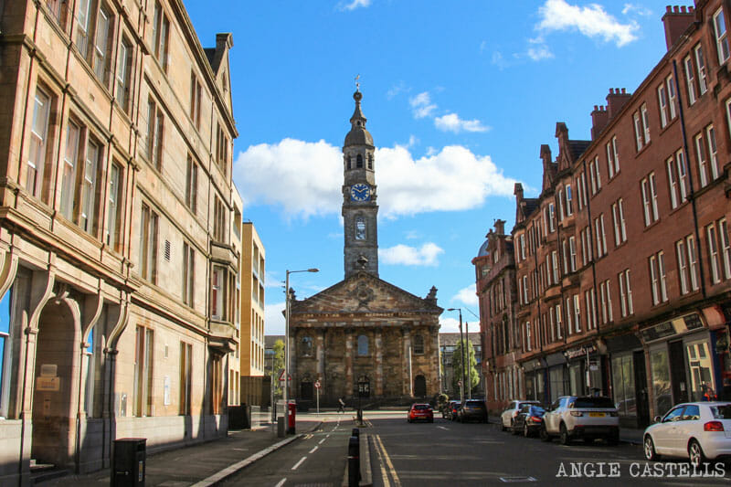 Escenarios de Outlander en Glasgow - St Andrew's in the Square