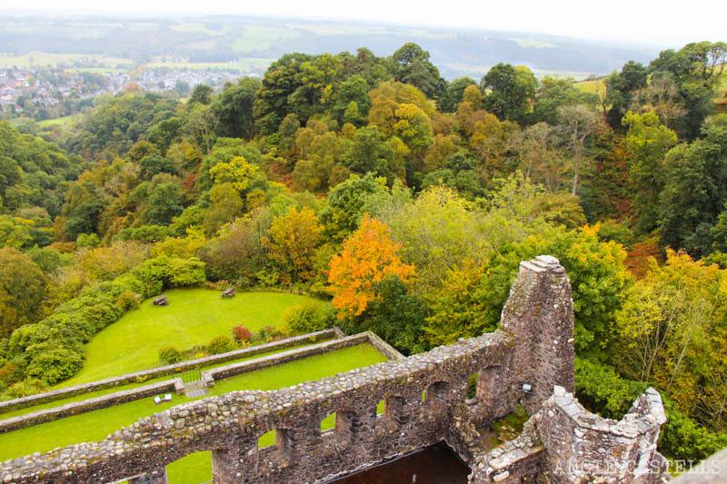Las mejores excursiones para el otoño en Escocia - El Castle Campbell y el Dollar Glen