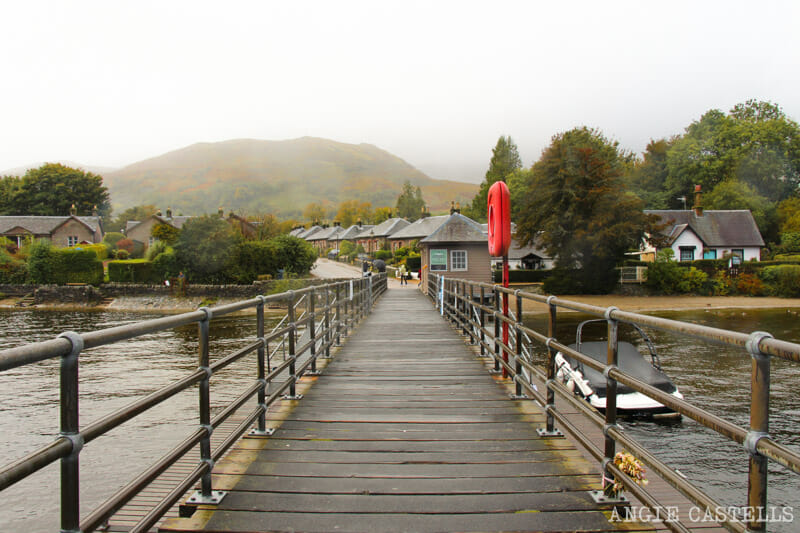 Las mejores excursiones para el otoño en Escocia - Luss Loch Lomond