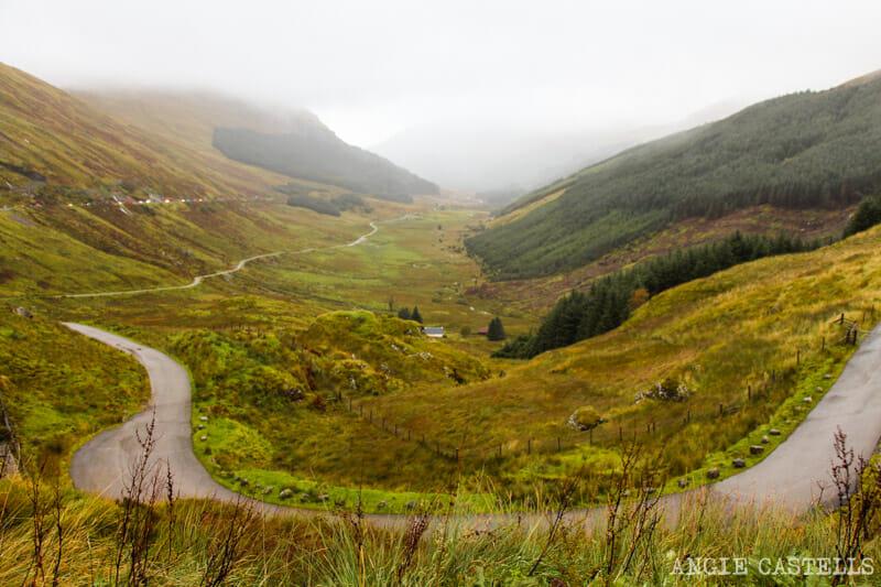 Las mejores excursiones para el otoño en Escocia - Rest and be Thankful