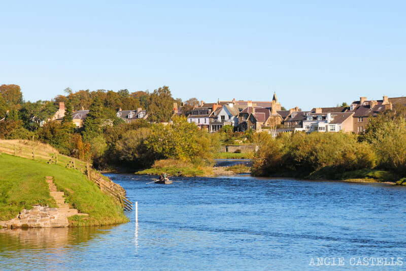 Las mejores excursiones para el otoño en Escocia - Kelso y los Borders