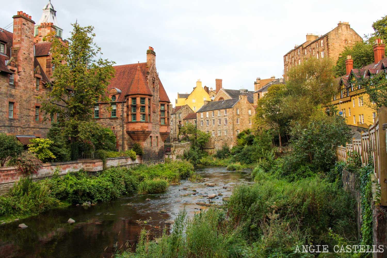 Qué hacer en Edimburgo con niños - Dean Village