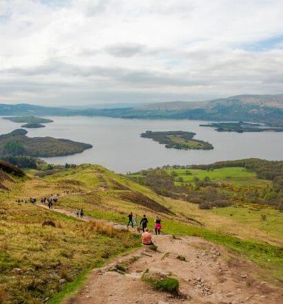 Ruta por el Loch Lomond y los Trossachs en 2 días - Conic Hill