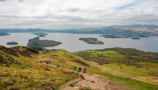 Ruta por el Loch Lomond y los Trossachs en 2 días