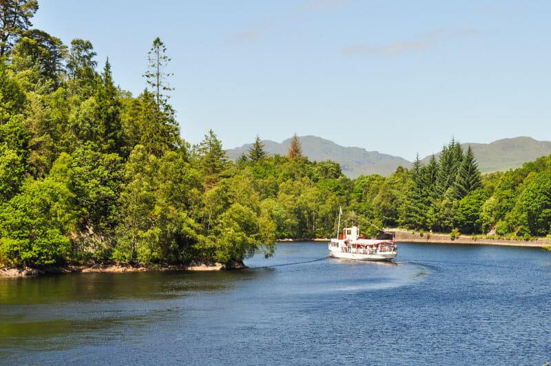 Ruta por el Loch Lomond y los Trossachs en 2 días - Loch Katrine