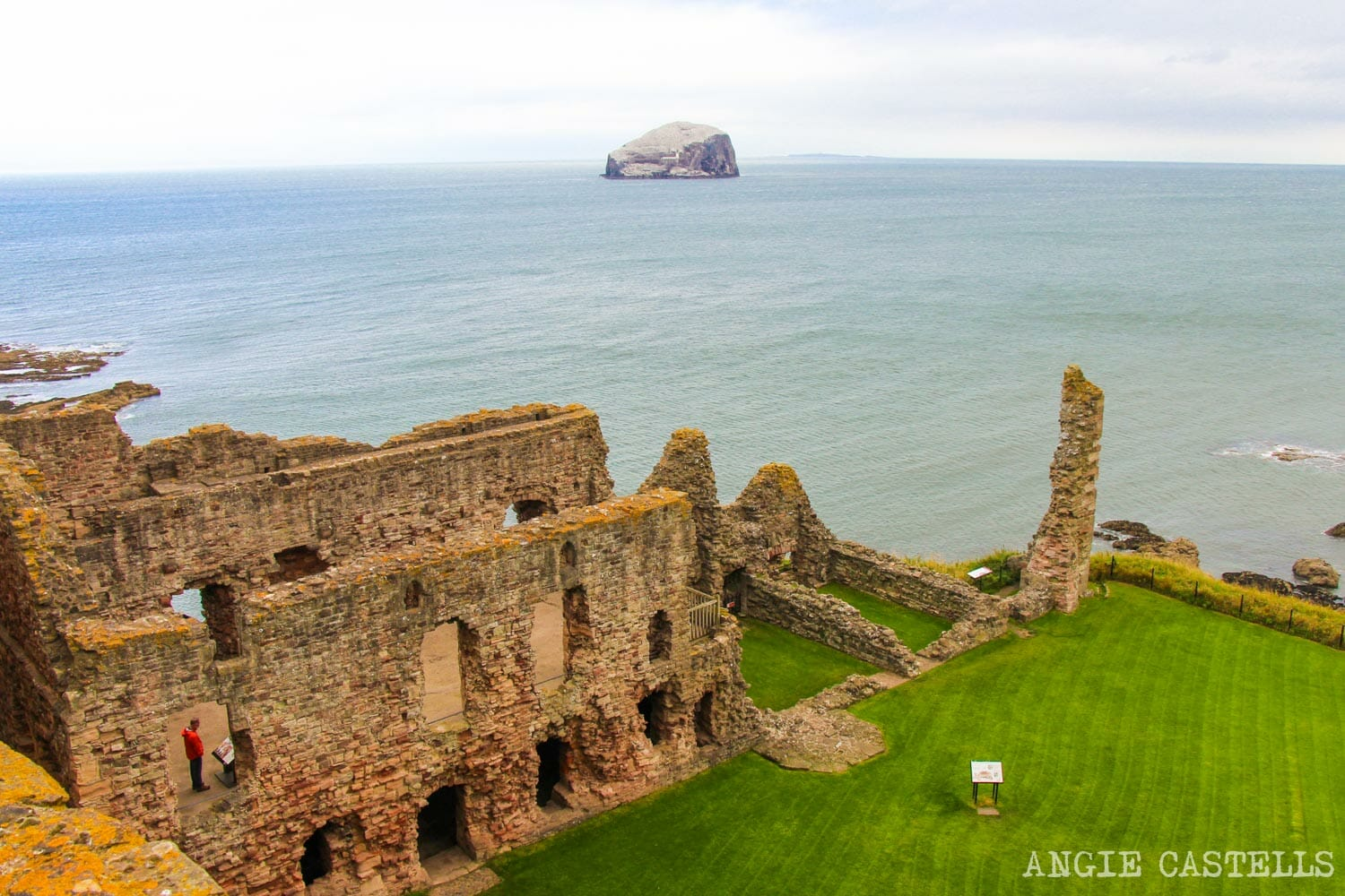 Excursion desde Edimburgo a East Lothian - Visitar el castillo de Tantallon