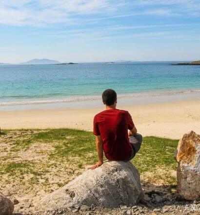 Ruta por la isla de Lewis y Harris en 3 días - Huisinis Beach