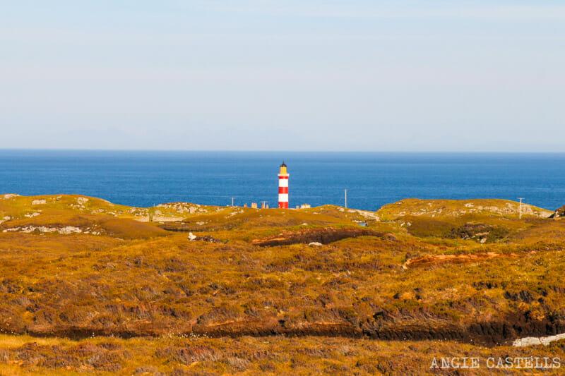 Ruta por la isla de Lewis y Harris - Eilean Glas Lighthouse, isla de Scalpay