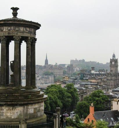 Qué hacer en Edimburgo cuando llueve - Calton Hill