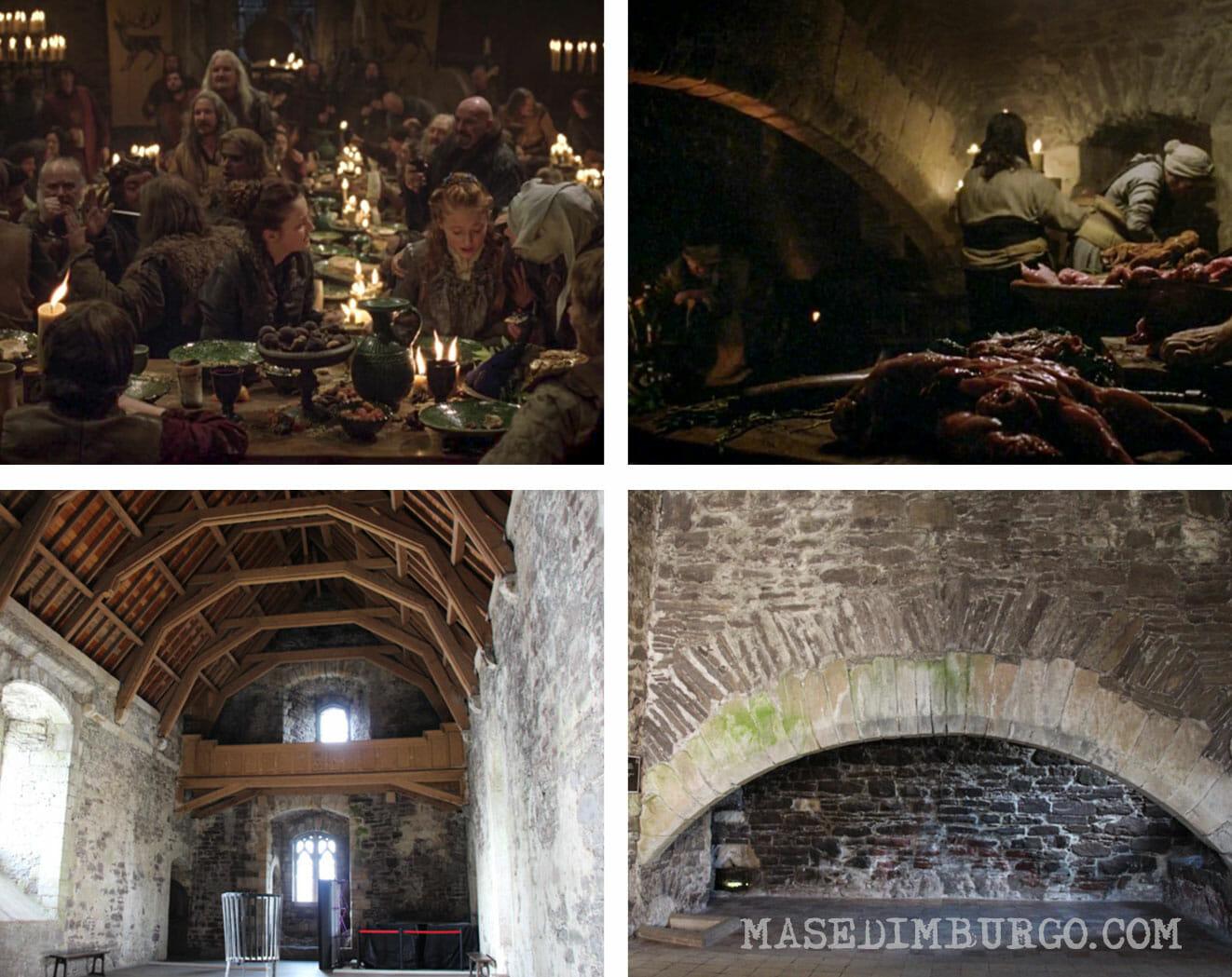 Dónde se rodó Juego de Tronos en Escocia - Doune Castle Winterfell