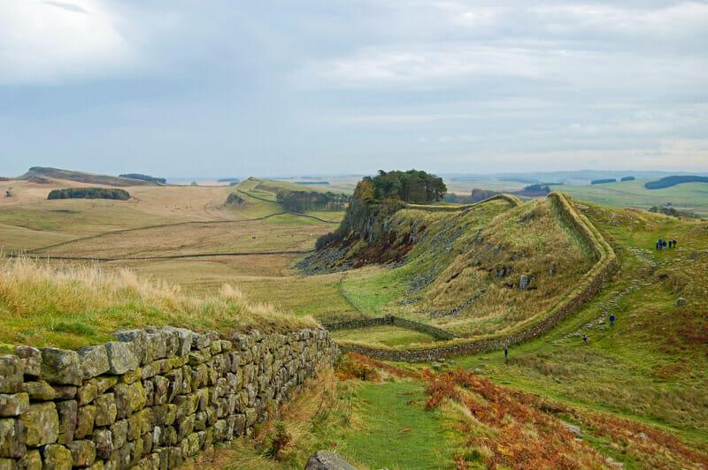 Juego de Tronos y Escocia - El muro de Adriano y The Wall