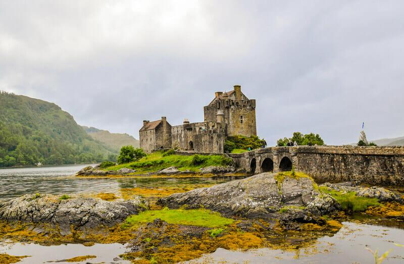 Los castillos más bonitos de Escocia - Eilean Donan Castle