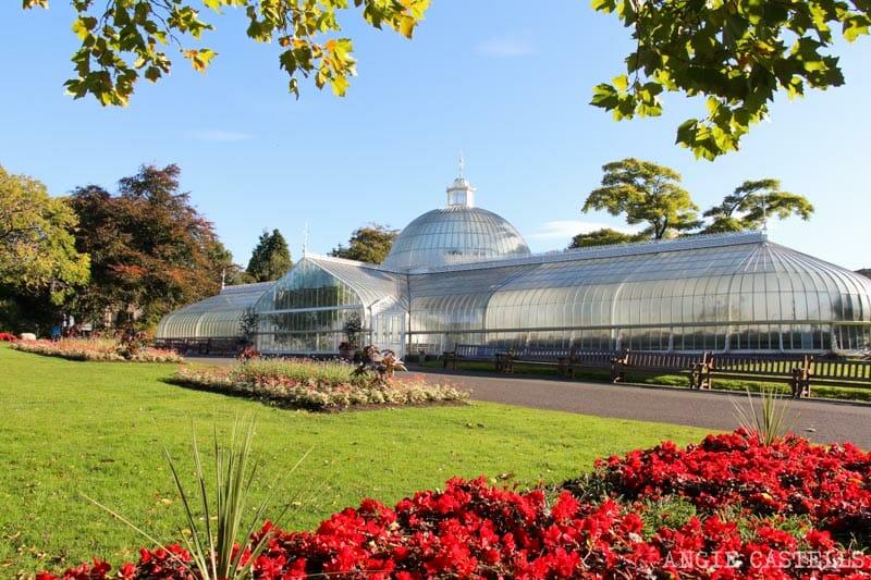 Cómo viajar barato a Escocia - El Jardín Botánico de Glasgow