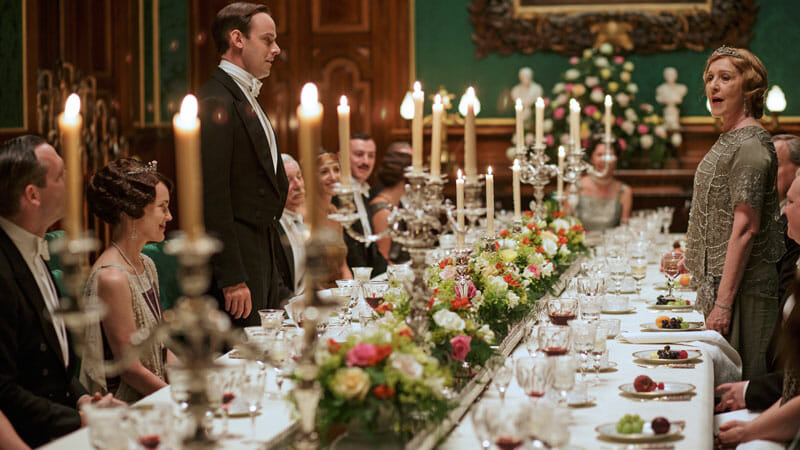 Las State Rooms del castillo de Alnwick en Downton Abbey