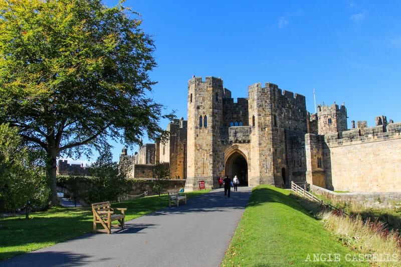 El castillo de Alnwick, escenario de Harry Potter en el Reino Unido