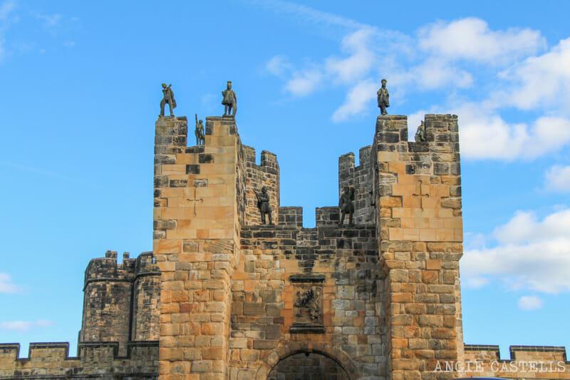Alnwick Castle, el castillo de Harry Potter en el norte de Inglaterra
