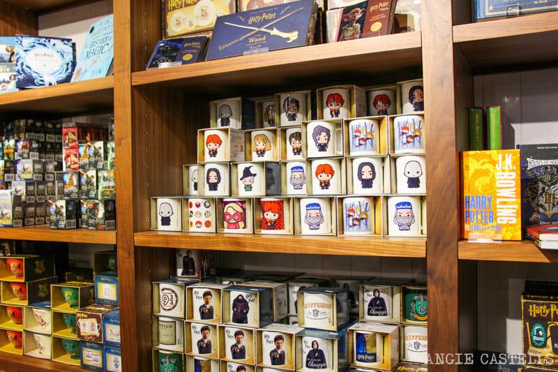 Souvenirs de Harry Potter en el castillo de Alnwick